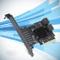 Scheda di espansione da PCI-E GEN3 a SATA3.0, scheda adattatore per computer a 5 porte com...