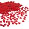 JZK® 5000 pz 1cm Scintillante plastica coriandoli Cuore Rossi Cuoricini Decorazione Tavolo...
