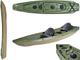 Bic sport kayak - trinidad fishing verde (lunghezza 359 cm) canoa - cod. y0902 -
