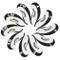 Callaway coprimazza Ferri Golf 10pcs/Set Bianco/Nero MT/C09