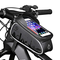 HEKIWAY Borsa per Telaio Bici Borsa per Bici Impermeabile e Parasole Bicicletta Borsa di s...
