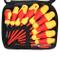 MINMINA Set di Strumenti Manuali 10 in 1 Multi-Tool, 1000V Isolato Set di Cacciaviti Trapa...