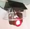 (Confezione da 8) Parapioggia trasparente impermeabile, scudo meteorologico, parapioggia,...