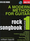 A Modern Method for Guitar Rock Songbook, Volume 1 [With CD (Audio)] [Lingua inglese]