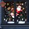 Yuson Girl Natale Adesivi Display Rimovibile Natale Addobbi Murali Fai da te Finestra Deco...