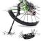 DOBEN Cavalletto Bicicletta MTB, Lega di Alluminio Regolabile Cavalletto Bici Cavalletto d...