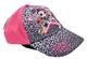 Cappellino da baseball estivo per bambine. Rosa Taglia unica