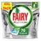 Fairy Platinum Caps per Lavastoviglie Confezione da 70