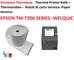 20 bobine cassa 80 x 80x 12 mm in carta termica per registratori di cassa rotolo di carta...