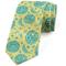 Cravatta da uomo, fasi lunari stile grunge, turchese giallo verde acqua Regali perfetti pe...