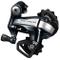 Shimano Metrea U5000 Deragliatore11 Velocità, Nero/Argento