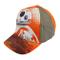 SWE7041 Berretto per Bambini Star Wars Regolabile e con Visiera Parasole. MWS (Arancione)