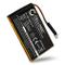 CELLONIC® Batteria Premium Compatibile con Garmin Edge 605 / Edge 705, 361-00019-12 1250mA...