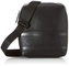 Calvin Klein Striped Logo Pu Mini Reporter - Borse a spalla Uomo, Nero (Blackwhite Black),...