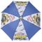 Minions ombrello da bambino in pvc con Stuart Kevin Tom e Carl. Ombrello para pioggia e pa...