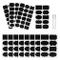 Kesote Etichette di Lavagna - 128 Adesivo Lavagna Riutilizzabile + 2 Marcatore di Gesso Bi...