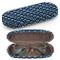 Custodia rigida per occhiali da sole, custodia per occhiali in plastica con panno per la p...