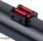 Toni system Tacca di Mira per Fucile da Caccia Sport Fibra Ottica 1,5mm Rosso Verde (Rosso...