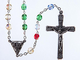 Missionario rosario. Multi colore rosario. Fatto a mano rosario