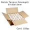 Confezione 100 Rotoli Termici mm 57x20 mt per POS Carta Termica 1^ Qualità