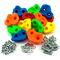 GO!elements 15 Prese Arrampicata per Bambini Set da Esterno incl. Materiale di Fissaggio |...