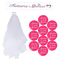 BUONDAC 【Ver. Italiano】 Kit (12 pz) Fascia Futura Sposa Italiano Bride To Be Badge Addio...