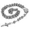 JewelryWe Gioielli Acciaio Inossidabile Collana Collegamento Perline Catena Catenina Argen...