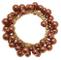 Donna Elasticizzato Braccialetto in bronzo Faux Pearl design 114317