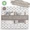 Mussole Neonato Bago® - 100% Cotone Biologico Certificato Gots - 120 X 120 - Mussola Coper...