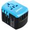 JYDMIX Alimentatore Universale all in One USB Adattatore da Viaggio con 3 Porte USB e Tipo...