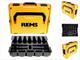 REMS 578659R L-BOXX 136 - Cassetta degli attrezzi con inserto per mini pinze a pressione