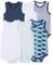 Care Body Pacco da 6, Bimbo, Blu (Deep Skye Blue 720), 62