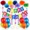 O-Kinee Decorazioni Compleanno, Festoni Compleanno,Buon Compleanno Bandierine, Addobbi Com...