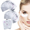 50 Paio Patch Extension Ciglia Gel Cerotto Eye Gel Patches Senza Pelucchi Cerotti Gel per...
