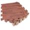 Tebery - Set di 16 tappetini in schiuma EVA ad incastro per pavimenti in legno chiaro e sc...