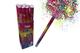 CONF. 12 pz. Tubo Cannone Sparacoriandoli COLORATI Compleanno Festa Party 60 cm