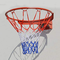 XINGLIAN Cerchio di Pallacanestro con Molla Acciaio Solido Canestro da Basket con Sistema...