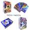 Sinwind 100 Pezzi Pokemon Carte, Pokemon Carta Iniziale, Carta Collezionabile, Pokemon Fla...