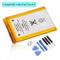 DDS-DUDES Batteria di ricambio interna da 930 mAh per iPod Touch 4a generazione + kit di s...
