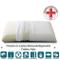 EVERGREENWEB - Cuscino in Lattice 40x70 Alto 12cm Cervicale DISPOSITIVO MEDICO Modello Sap...