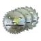 Sega Circolare Tct Lame 16, 24, 30T 3 Pz - Multi, 165 x 30-20, 16, 10mm rings