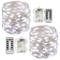 Stringa Luci Led,[2 Pack]Catene Luminose 10 metri 100LEDs Stringa Luci LED Impermeabile IP...