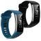 kwmobile Cinturino in Silicone Compatibile con Huawei Band 2 / Band 2 PRO - 2X Fascetta Fi...