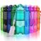 ZORRI Borraccia Sportiva BPA Free Tritan 400ml /14oz, 500ml/ 17oz, 700ml/ 24oz, 1l / 32oz...