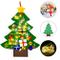 Faburo Feltro Albero Natale, Albero di Natale in Feltro per Bambini 100cm della Feltota di...