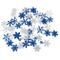 50pz Colore Misto di Scintillio di Bling Neve Fiocco di Bricolage Fai da Te