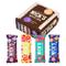 NICKS Sport Mix, con assortiti Protein Sport Crunch Wafer Barrette proteiche al cioccolato...