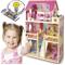 Leomark Casa delle bambole, sogno mansion in legno, mobili e accessori, residence con 4 ba...