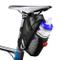 otumixx Borsa della Sella per Bicicletta Impermeabile Borsa da Sella con Tasca Porta-borra...