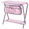 Käthe Kruse 0179346 - Tavolino fasciatoio per Bambole con Vasca da Bagno, Colore: Rosa